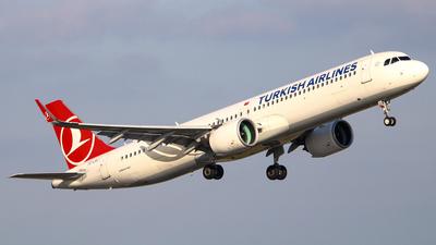 TC-LSJ - Airbus A321-271NX - Turkish Airlines