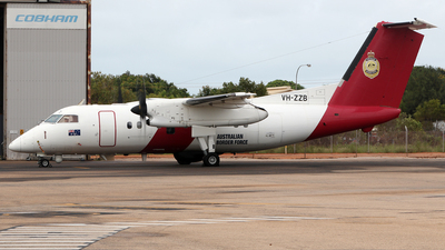 VH-ZZB - Bombardier Dash 8-Q202 - Australia - Customs
