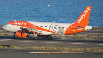 A picture of GUZHE - Airbus A320251N - easyJet - © Adolfo Bento de Urquía