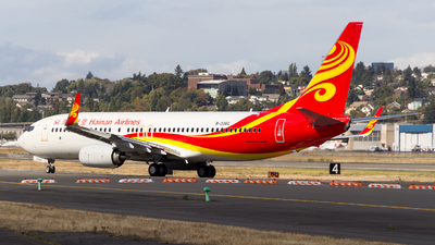B-206G - Boeing 737-84P - Hainan Airlines