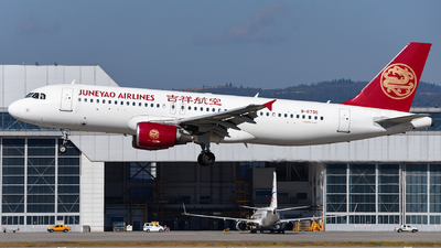 A picture of B6735 - Airbus A320214 - Juneyao Airlines - © guweishi