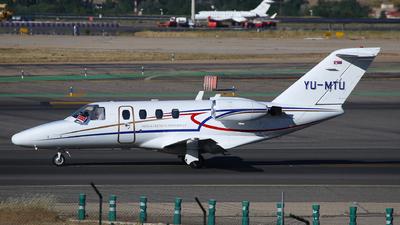YU-MTU - Cessna 525 CitationJet 1 - Private