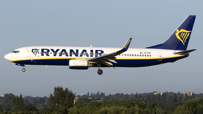 A picture of EIEBY - Boeing 7378AS - Ryanair - © Dan Smith