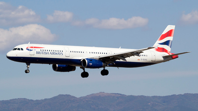 G-EUXL - Airbus A321-231 - British Airways