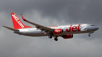 A picture of GJZHR - Boeing 7378MG - Jet2 - © Pablo Marín