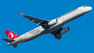 TC-JSE - Airbus A321-231 - Turkish Airlines - Flightradar24