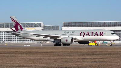 A picture of A7ALQ - Airbus A350941 - Qatar Airways - © Thomas Rosskopf