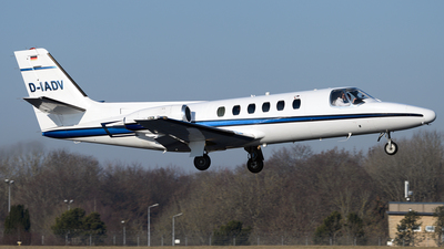 A picture of DIADV - Cessna 551 Citation IISP - [5510552] - © PAUL LINK
