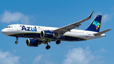 A picture of PRYRT - Airbus A320251N - Azul Linhas Aereas - © Jehu Monterroso
