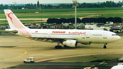 TS-IMA - Airbus A300B4-203 - Tunisair