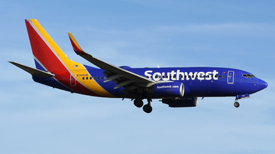 A picture of N744SW - Boeing 7377H4 - Southwest Airlines - © DJ Reed - OPShots Photo Team