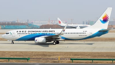 A picture of B1105 - Boeing 73783Z - Donghai Airlines - © QingChen1204