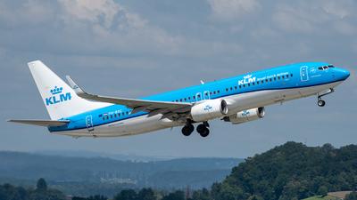 A picture of PHBXC - Boeing 7378K2 - KLM - © Kurt Kolb