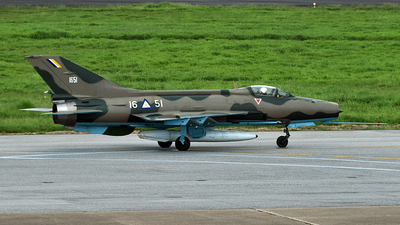 1651 - Chengdu F-7MB - Myanmar - Air Force