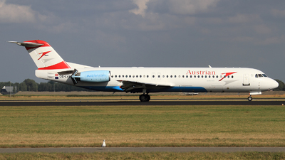 OE-LVE - Fokker 100 - Austrian Airlines (Tyrolean Airways)
