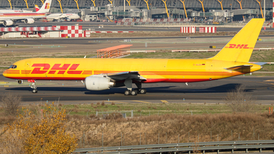 D-ALEH - Boeing 757-236(SF) - DHL (European Air Transport)