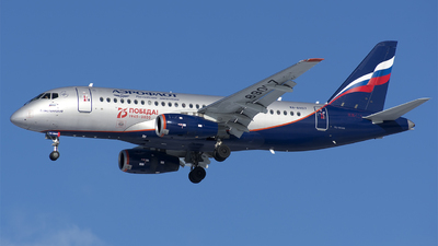 A picture of RA89017 - Sukhoi Superjet 10095B - Aeroflot - © SN7756