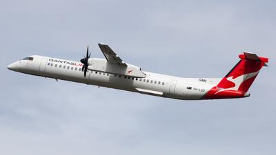 A picture of VHLQD - De Havilland Canada Dash 8400 - QantasLink - © Clayton Ferguson