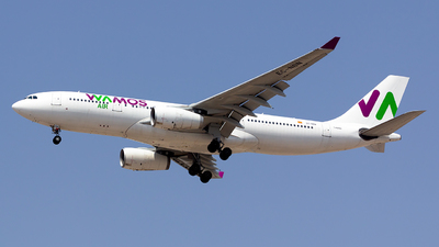 A picture of ECNBN - Airbus A330243 - Wamos Air - © nsxr_
