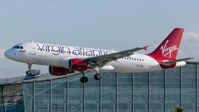 EI-EZW - Airbus A320-214 - Virgin Atlantic Airways (Aer Lingus)