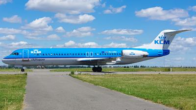PH-OFM - Fokker 100 - KLM Cityhopper