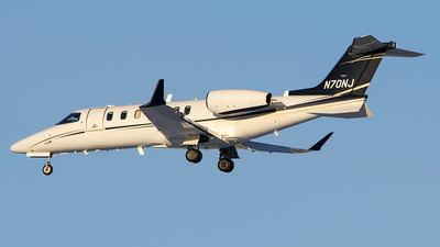 N70NJ - Bombardier Learjet 70 - Private