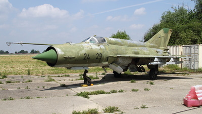 24-29 - Mikoyan-Gurevich MiG-21bis Fishbed L - German Democratic Republic - Air Force