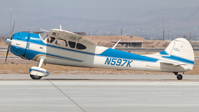 N597K - Cessna 195 - Private