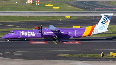 A picture of GJECM - De Havilland Canada Dash 8400 - [4118] - © Johannes Wirl
