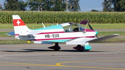 HB-EUX - Robin DR340 - Private