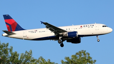 N331NW - Airbus A320-211 - Delta Air Lines