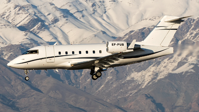 EP-PUB - Bombardier CL-600-2B16 Challenger 604 - Pouya Air