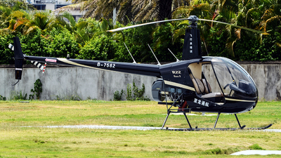 B-7582 - Robinson R22 Beta II - Hainan Sanya Yalong General Aviation Co