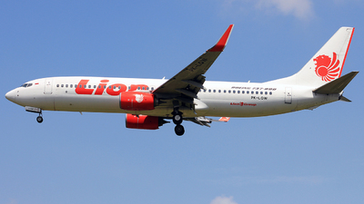 PK-LQW - Boeing 737-8GP - Lion Air
