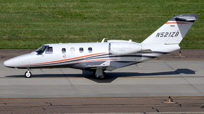N521ZB - Cessna 525 CitationJet M2 - Private