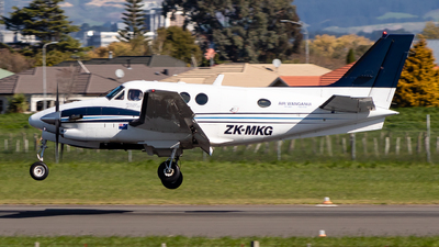 ZK-MKG - Beechcraft C90 King Air - Air Wanganui