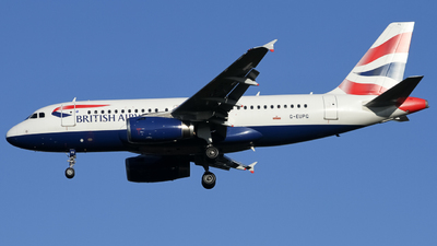 A picture of GEUPG - Airbus A319131 - British Airways - © subing27