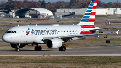 A picture of N773XF - Airbus A319112 - American Airlines - © Michael Place