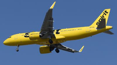 A picture of N929NK - Airbus A320271N - Spirit Airlines - © DJ Reed - OPShots Photo Team
