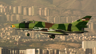 15-2466 - Sukhoi Su-22UM3K Fitter G - Iran - Revolutionary Guard