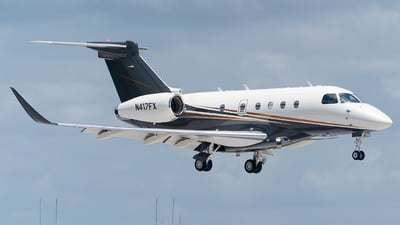 A picture of N417FX - Embraer Legacy 450 - Flexjet - © Mark Lawrence