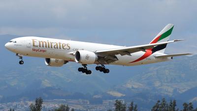 A picture of A6EFM - Boeing 777F1H - Emirates - © Mathias Moya