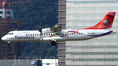 B-22815 - ATR 72-212A(600) - TransAsia Airways