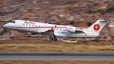 OB-2122P - Bombardier CRJ-200ER - Star Perú