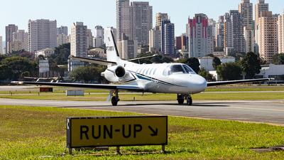 A picture of PTMMV - Cessna 550 Citation Bravo - [5500811] - © Ariadne Barroso