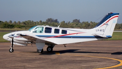 LV-AYZ - Beechcraft 58 Baron - Private