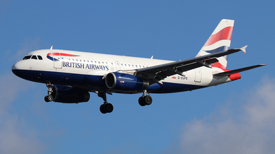 A picture of GEUPS - Airbus A319131 - British Airways - © Ferenc Kolos