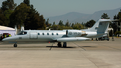 VR-24 - Bombardier Learjet 35A - Argentina - Air Force
