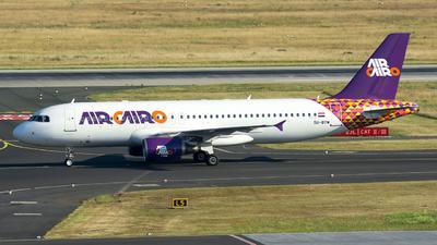 SU-BTM - Airbus A320-214 - Air Cairo