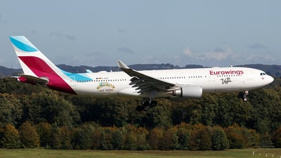 D-AXGF - Airbus A330-203 - Eurowings